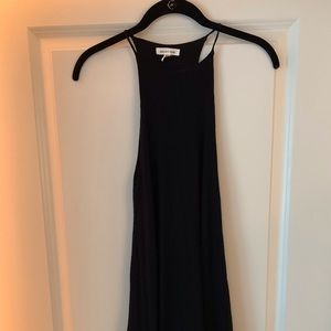 Urban outfitters black racer back dress